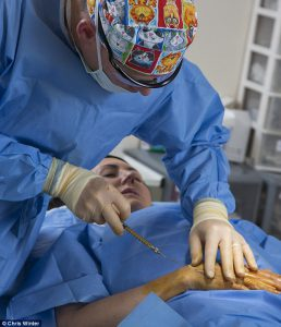 Liz Jones Surgery