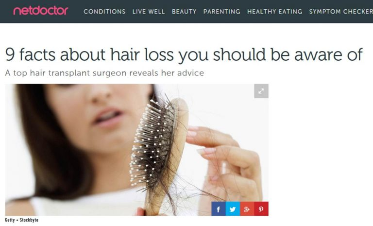 netdoctor 9 facts about hair loss you should be aware of 768x465 1