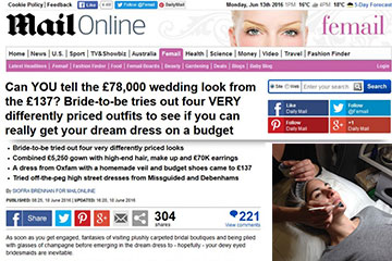 news can you tell the 78000 wedding look from the 137 the private clinic
