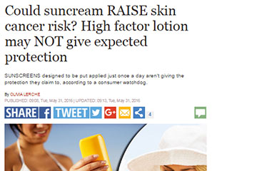 news could suncream raise skin cancer risk the private clinic