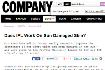 news does ipl work on sun damaged skin the private clinic