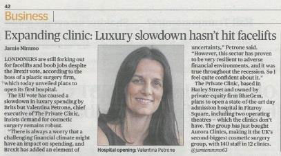 news expanding clinic luxury slowdown hasnt hit facelifts article