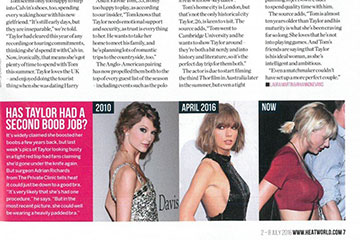 news has taylor had a second boob job the private clinic