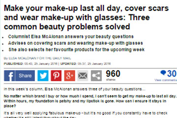 news make your make up last all day the private clinic