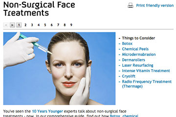 news non surgical face treatments the private clinic