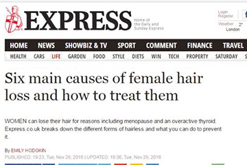 news six main causes of female hair loss and how to treat them