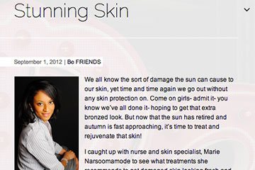 news stunning skin the private clinic