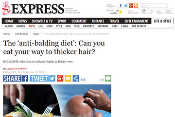news the anti balding diet can you eat your way to thicker hair the private clinic