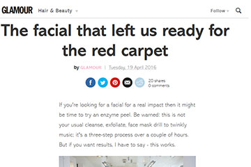 news the facial that left us ready for the red carpet the private clinic 1