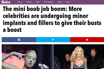 news the mini boob job boom the private clinic