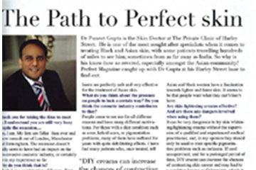 news the path to perfect skin the private clinic