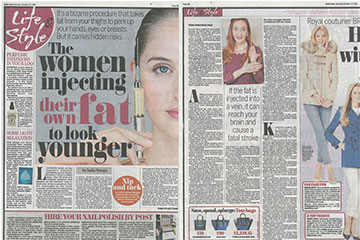 news the women injecting their own fat to look younger the private clinic