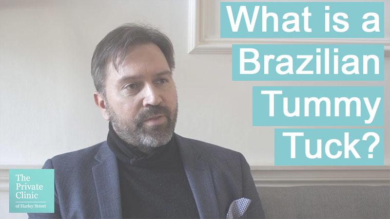 what is the brazilian tummy tuck abdomnioplasty technique