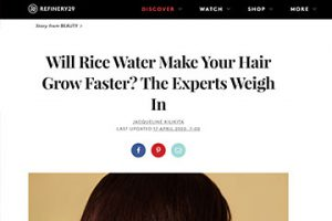 will rice water make your hair grow faster expert trichology advice hair loss the private clinic