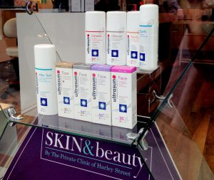 Ultrasun is just one of the skincare options available at several of our clinics.