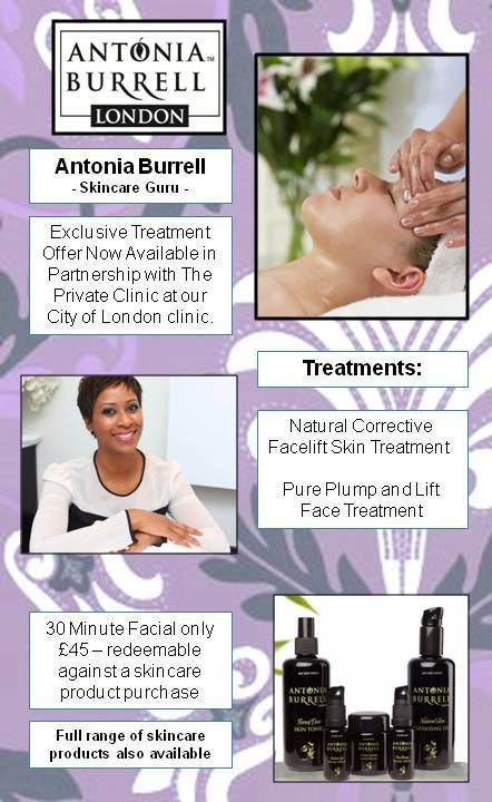 Antonia Burrell at The Private Clinic