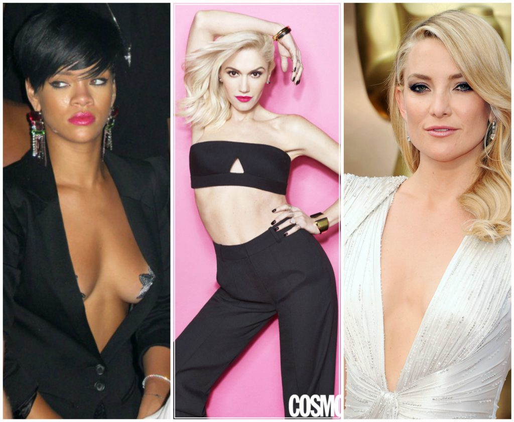 small breasted celebrities rihanna kate hudson gwen stefani the private clinic
